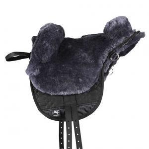 Merino Lambskin Saddle Treeless Saddle New Cream Fur Saddle